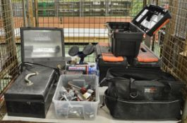 Tool Assortment - Spanners, Tool Boxes, Tool Bag & Cases