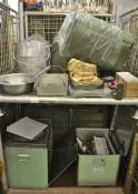 Field Kitchen set - cooker, oven, utensil set in carry box, norwegian food boxes, accessor