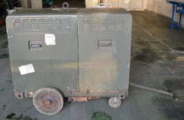 11KVA 3phase Lombardini diesel generator welder