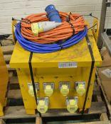 Carroll & Maynell CM 10K16 Transformer - Input - 230v/Output - 110v