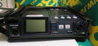 Tascam HD-P2 Portable Stereo Audio Recorder