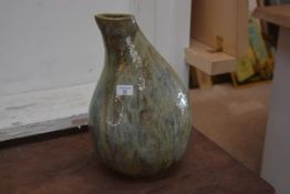 Carolina M. Valvona, a large glazed studio pottery vessel