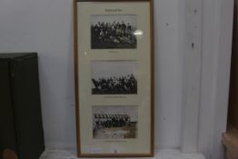 Golfing Interest, Three 19thc reproduction black and white photographs of Westward Ho! Golf Club,