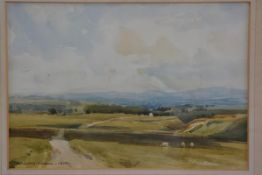 William Dodd (1938-1981), Eden Valley Farm, watercolour, signed and dated 1979 (23cm x 33cm), £50-70