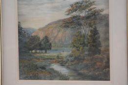 Thomas Harper, Cumberland, watercolour, signed (37cm x 39cm), £30-50