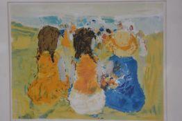 Epko, Summer Party, silkscreen print, 5/75, signed (46cm x58cm), £30-50
