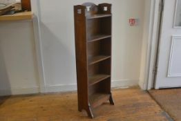 A Holliday & Son & Co. Ltd., Cabinetmakers, Birmingham, Arts & Crafts oak upright bookcase with
