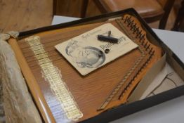 The Climatic Concert Piano Harp, complete with original box, instructions, tuning key and metal