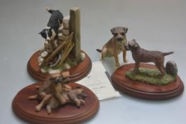 A Border Fine Arts James Herriot Studio Collection Figure, 2007 complete with certificate, a