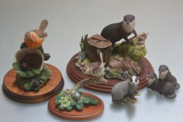 A Border Fine Arts Country Characters model, The Poacher (one reed a/f), Russell Willis Collection
