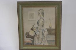 After W.E. Weester, Melody for 1938, framed print (68cm x 39cm)