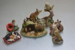 Border Fine Arts, Family Life: The Rabbit Family, the Chiltern Collection, First Friends, Border