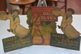 Advertising Interest: Dales Dubbin, Gold Medal makes Boots and Harnesses Soft, Durable and