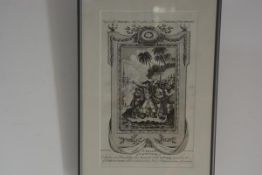 After Hamilton, The Death of Captain Cook, an 18th/19th century engraving. 33cm by 19cm