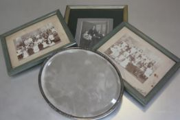 Two Victorian photographs, Schoolchildren by DW Prophet, Dundee and a family portrait together