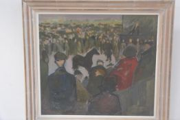 Pat Muir Cairns (Princess Palaiologina), Wigton Annual Horse Sale, signed and dated front left,