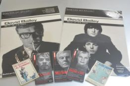 David Bailey Memorabilia: two laminated Barbican posters, The Birth of Cool, April 15th to 27th June