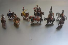 A collection of Dell Prado diecast Military Figures Through the Ages in good condition (a lot)