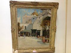 James Kay R.S.A., R.S.W. (Scottish 1858-1942), Capri, a View of Santo Stefano, signed lower left,