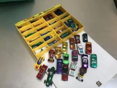 A 24 Collector's case by Mattel, Hotwheels, Fastest Metal Cars in the World, carry case complete