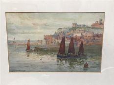 GW Williams (Hamilton Glass), St Andrews, watercolour, signed (17cm x 24cm)