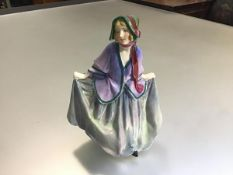 A Royal Doulton china figure, Sweet Anne, HN1218, decorated with polychrome enamels (h.18cm)