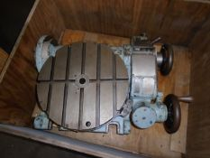 "Pratt & Whitney 16"" Dia. Tilting Rotary Table"
