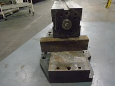 "Rotary Table Trunion 6"" x 6"" x 19"" L Cube With Pneumatic Brake"