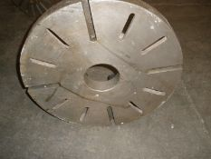 "22"" Dia. x 4 ¾"" ID Engine Lathe Face Plate D11 Mount Stock 5216"