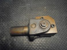 "Warner & Swasey Turret Lathe id Adjustable Angle Tool Holder 3TY-245A 1 3/4"" dia. Shank 1 1/4"""