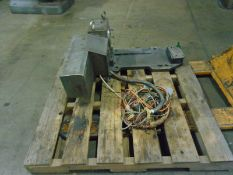 "Peisler RT-160 Rotary Table With Base Plate Fanuc Motors Fanuc Motors  1 9/16 ID Hole 12"" Swing Base"