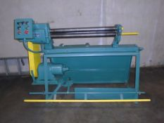 "Peck Stow & Wilcox Co Power Roll Forming Machine 20 Gage Capacity 3"" x 36"" Model 392-E SN: 6/53"