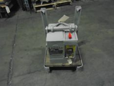 Magnaligt LM-2 Crane Electromagnet 2,500 Lbs. Capacity With Charger 110V Brand New Battery Stand