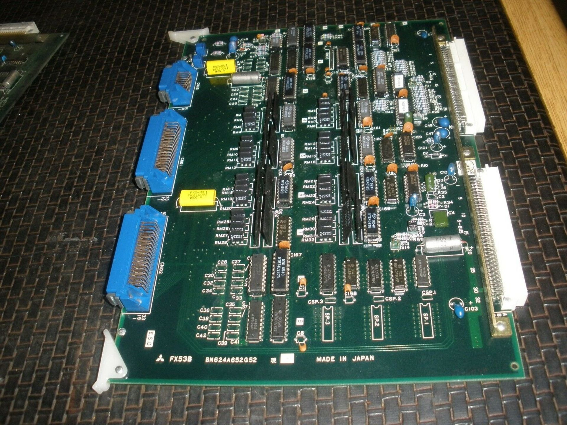 Mitsubishi Servo Board BN624A652G52