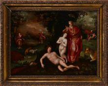 (atribuível a) MARTEN DE VOS (1532-1603), NASCIMENTO DE EVA
