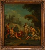 ESCOLA ITALIANA (SÉC. XVII/XVIII), CENA MITOLÓGICA