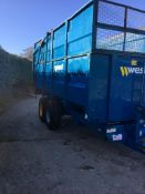 WEST 10T SILAGE TRAILER