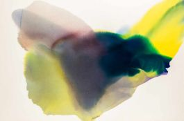 Paul Jenkins (hs art)Kansas City 1923 - 2012 New YorkPhenomena Bull RunAquarell auf Bütten /