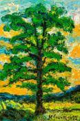 Karl Stark (hs art)Glojach 1921 - 2011 KlosterneuburgBaumÖl auf Leinwand / oil on canvas105,5 x 71