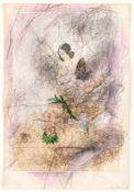Arnulf RainerBaden 1929 *Ohne Titel (Erotische Darstellung aus der Pseudologica Serie von Peter