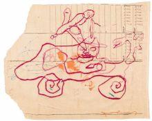 Oswald OberhuberMeran 1931 - 2020 WienOhne Titel / untitledWandteppich (Gobelin), geknüpft /