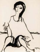 Lotte ProfohsWien 1934 - 2012 WienLotte selbstTusche auf Papier / india ink on paper62,5 x 48