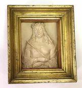 Reliefplatte Christus