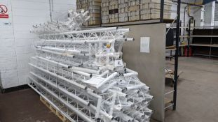 Optikinetics Trilite 200 Series Truss in white, comprising the following: 11 off 2TR4000, 2 off 2T