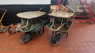 4 off wheelbarrows