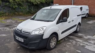 MC66 GSZ Citroen Berlingo 625 Enterprise Blue HDI panel van, 5 speed manual gearbox, 1560cc diesel e