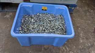 Bolts & nuts for Optikinetics Trilite 200 Series Truss. This crate is understood to contain approx