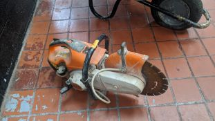 Stihl petrol saw model TS410