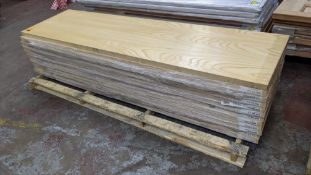 12 off ash doors, dimensions 1981 x 533 x 35, product code 631615