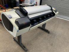 HP DesignJet T2300 eMFP wide format printer, product code CN727A/CN728A